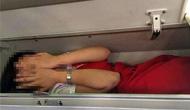 昆航空姐称被强行塞入行李架