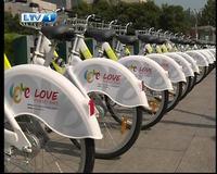 [莱芜]城市便民公共自行车系统投入使用