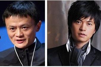 马云登台献唱4首歌与李健合唱《传奇》
