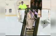 沙特国王的黄金电梯突然卡住了,尴尬了!