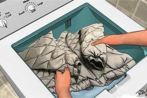 干洗店的秘密:洗羽绒服原来有妙招