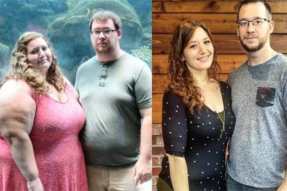 2017最励志夫妻 两年减肥180公斤 圈粉47万