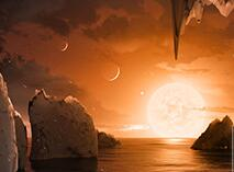 """NASA公布新发现:40光年外还有一个""""太阳系"""""""