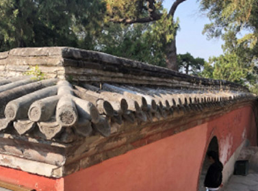 外国游客颐和园翻墙导致瓦片损坏——园方已报送公安部门损坏处已修复