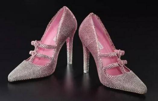 3000万人民币的钻石高跟鞋