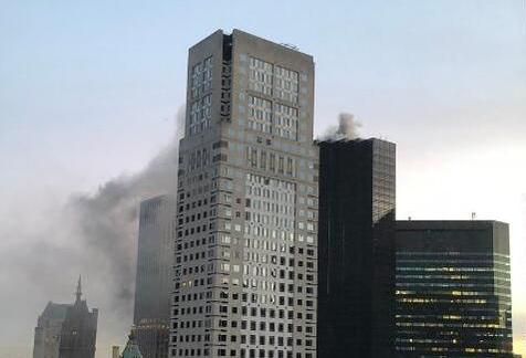 特朗普大厦起火 360度无死角播报